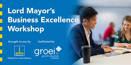 Lord Mayor's Business Excellence Workshop: Time management and productivity tickets