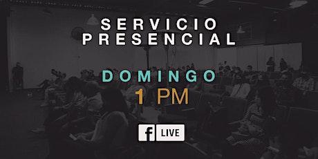 SEGUNDO SERVICIO PRESENCIAL boletos