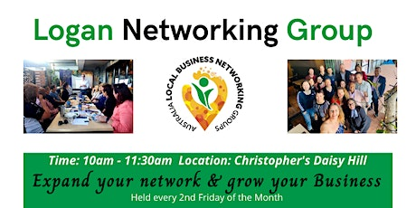 Logan Networking Group - Network & Grow your Business tickets