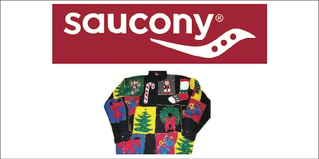 Ugliest Sweater EVERUN test run with Saucony tickets