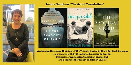 "Sandra Smith on ""The Art of Translation"" tickets"