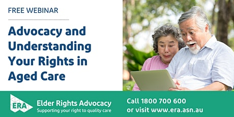 Advocacy and understanding your rights when accessing aged care services tickets