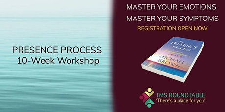 """Have you done """"The Presence Process?""""  Awareness = Less Chronic Pain tickets"""