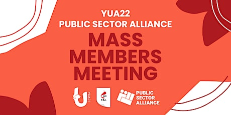 Public Sector Alliance Union Members Meeting tickets