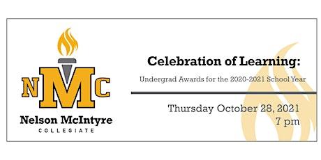 NMC Celebration of Learning: Undergrad Awards tickets