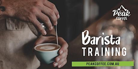 Peak Coffee Barista Training November 2021 tickets