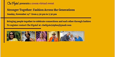 Stronger Together: Fashion Across the Generations tickets