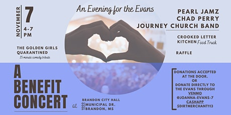 An Evening for the Evans - Concert tickets