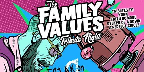 Family Values Tribute Show Live at Q Bar in Darien tickets