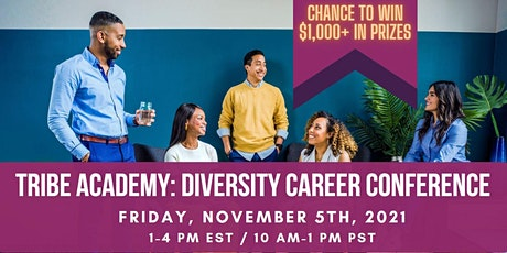 Tribe Academy Diversity Career Conference 2021 tickets
