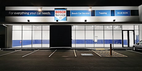 Grand Opening Bosch Car Service Tapping tickets