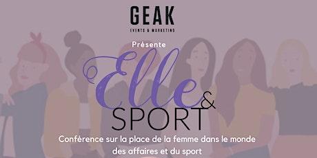 Elle & Sport - Parlons des  femmes oeuvrant dans les affaires et le sport tickets