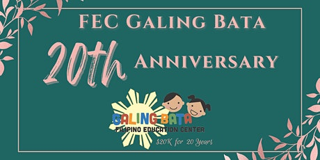 FEC Galing Bata's 20th Anniversary, $20K for 20 Years tickets