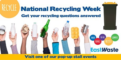 National Recycling Week - Pop up stall - North Adelaide Football Club tickets