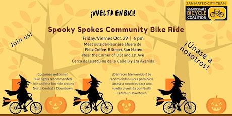 Spooky Spokes Bike Ride in San Mateo tickets