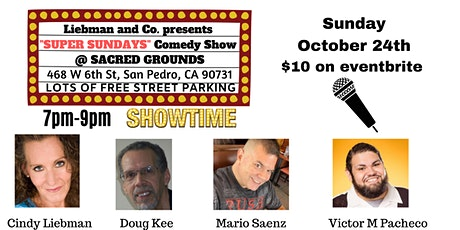 Sexy Sunday's Comedy Show at Sacred Grounds tickets