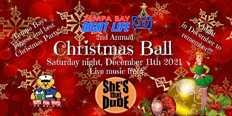 Tampa Bay Nightlife TV 2nd Annual Christmas Ball tickets