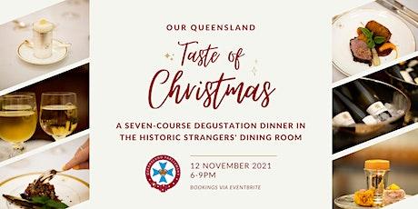 Taste of Christmas, Degustation Dinner at Parliament House tickets