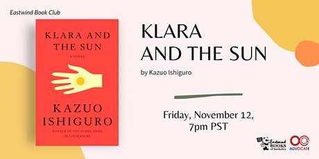 Eastwind Book Club: Klara and the Sun tickets