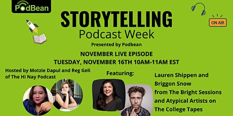 Storytelling Podcast Week November Live Episode tickets
