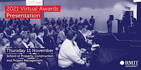 RMIT PCPM - 2021 Virtual Awards Presentation billets