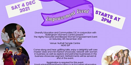 Highly Blessed and Favoured Women Empowerment Event tickets
