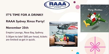 RAAA Sydney Xmas Party tickets