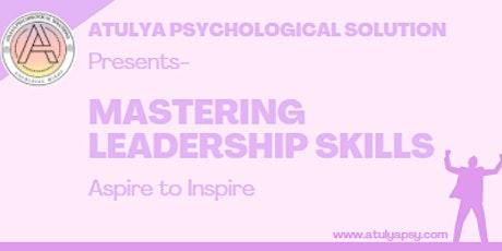 Mastering Leadership Skills tickets
