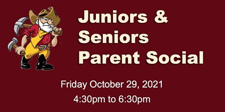Juniors and Seniors Parent Social tickets