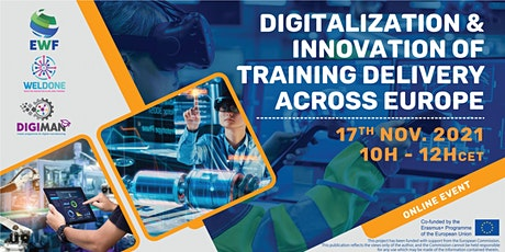 Digitalization & Innovation of Training Delivery Across Europe tickets