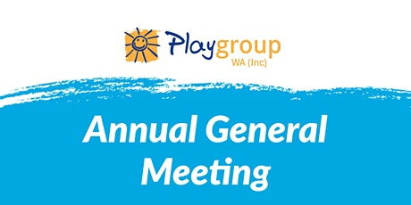 Playgroup WA Annual General Meeting tickets