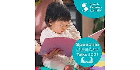 Speechie library talk - Online event tickets