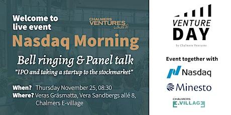 Venture Day / Nasdaq Morning tickets