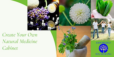 How to Create & Use a Natural Medicine Chest tickets