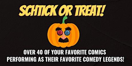 Schtick or Treat at Denver Comedy Underground! tickets