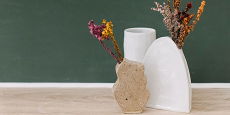 BUNBURY Not Yet Perfect Pottery - Vases Hand Building Workshop tickets