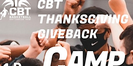 CBT Thanksgiving Giveback Mini Camp tickets