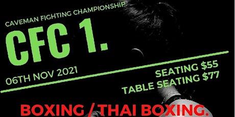 CFC1 Caveman Fighting Championship tickets