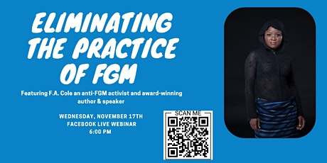 Eliminating the Practice of Female Genital Mutilation tickets