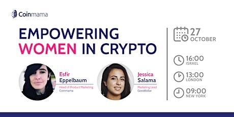 Empowering Women in Crypto tickets