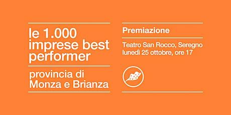 PREMIO LE 1000 IMPRESE BEST PERFORMER | MONZA E BRIANZA biglietti