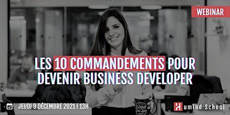 Les 10 commandements pour devenir Business Developer billets