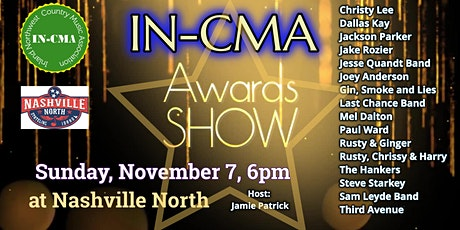IN-CMA Awards Show tickets