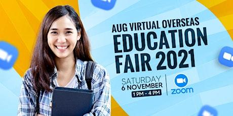 Virtual Overseas Education Fair November 2021 tickets
