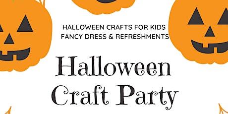 Halloween Craft Party tickets