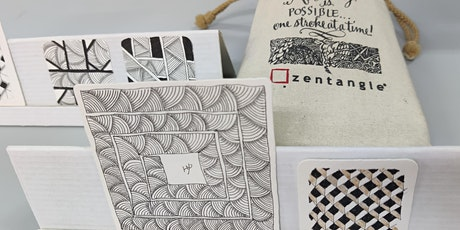 Zentangle Art Course starts  Jan 7  (8 sessions) tickets