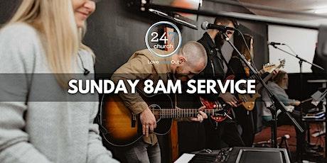 Sunday 8am service tickets