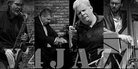 Concert of the V4 Jazz Quartet in Brussels tickets