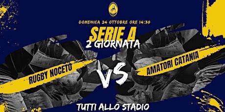 Serie A: Rugby Noceto - Amatori Catania Rugby biglietti