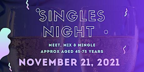 Singles Night 45-75 tickets
